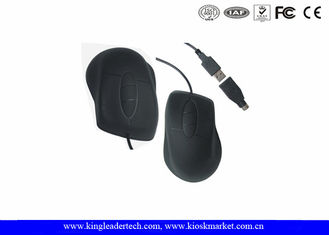 IP68 Complance Washable Optical Silicone Waterproof Mouse For Industrial