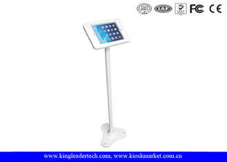 Anti - Theft iPad / Tablet Kiosk Stand , Public tablet display stand Vesa Mounting